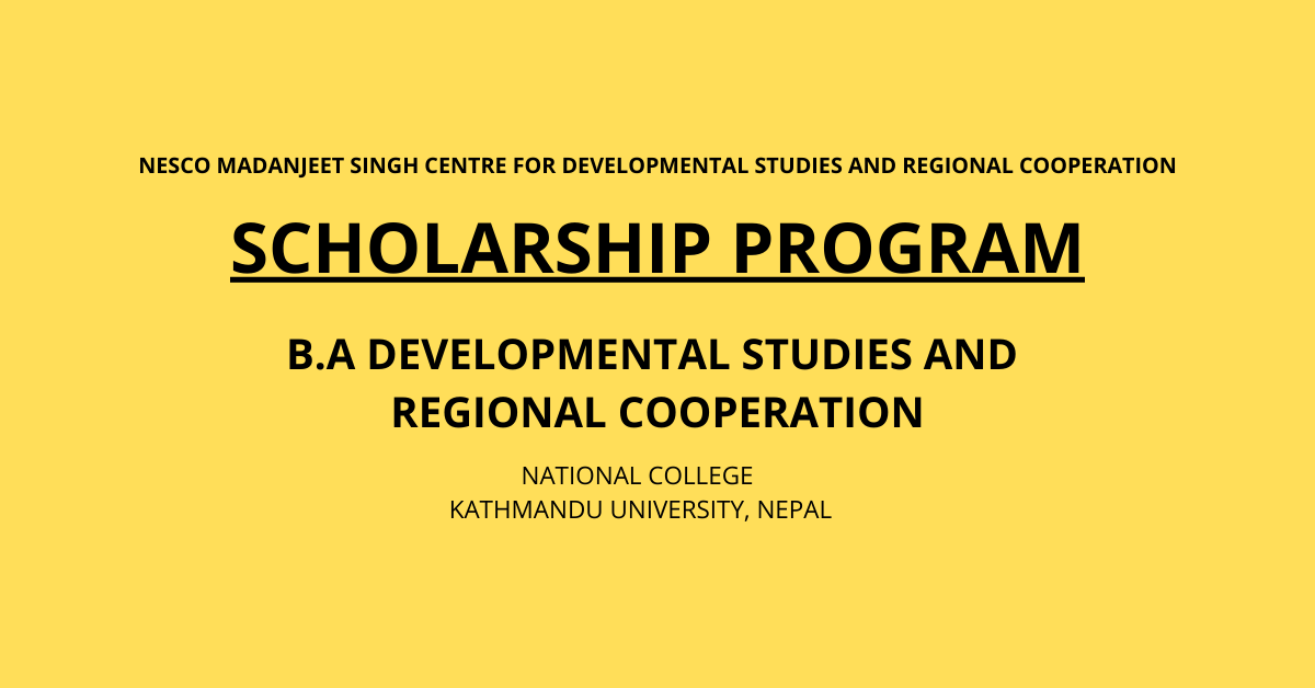 SAF Scholarship (UMCDSRC)